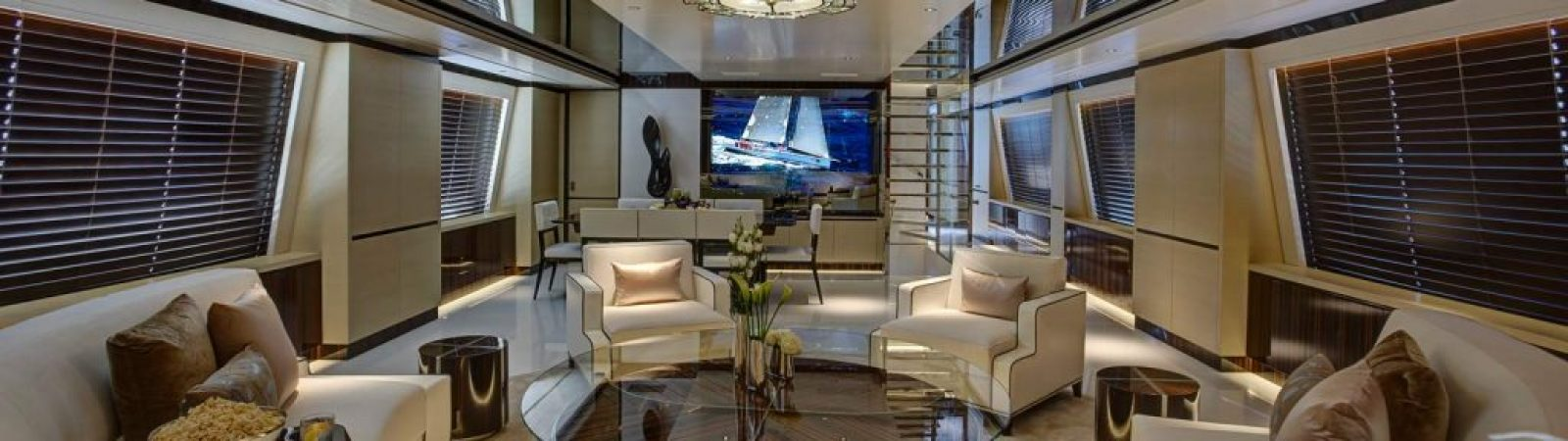 Award winning yacht interiors