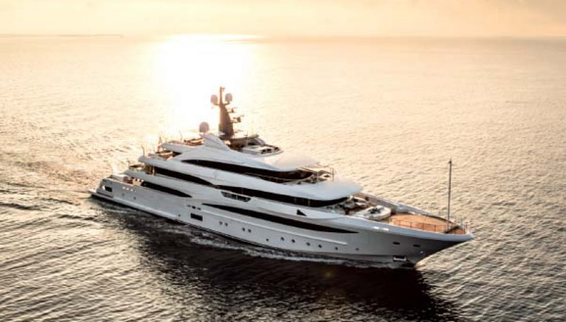 Cloud 9 74m CRN superyacht, represented by Burgess