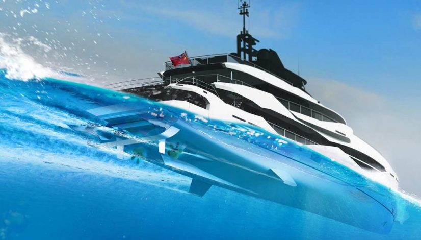 Sunseeker 161 underwater view