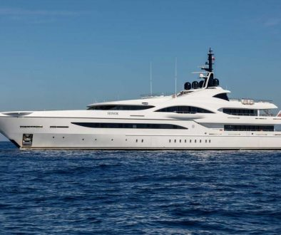 Superyacht Honor, listed by Burgess