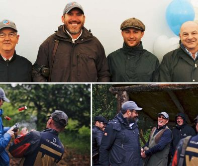 Peters & May Foundation Clay Pigeon Shoot team