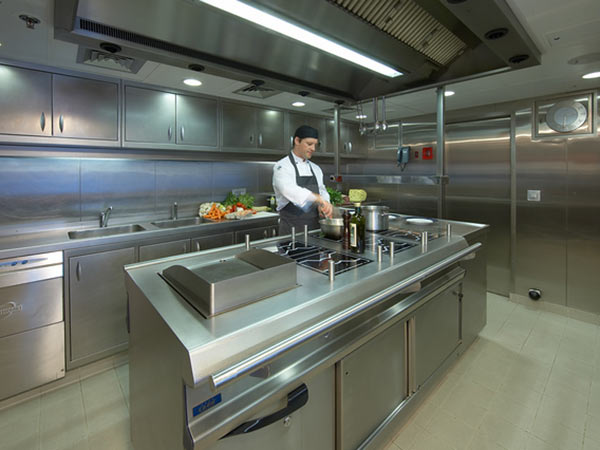 Superyacht chef