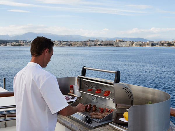 Superyacht second chef
