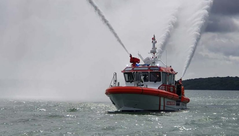 Fire fighting vessel Barracuda