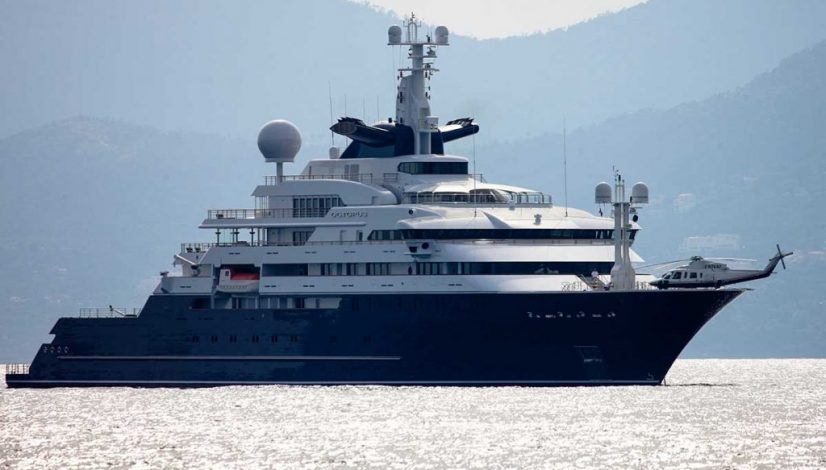 Superyacht Octopus
